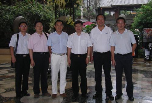 郭文奇主任赴成都世纪城新国际会展中心调研