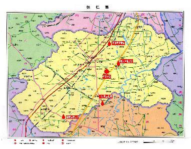 山西朔州怀仁地图